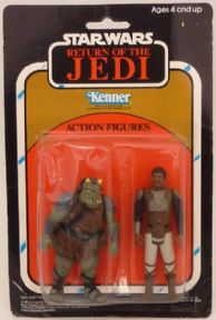 Star Wars Vintage Return of the Jedi Two Pack Lando Skiff & Gamorrean Guard
